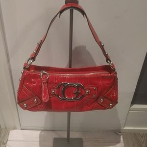 Beautiful red bag by Guess